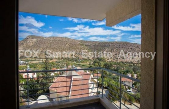 1-Bedroom Apartment with nice view in Germasogeia