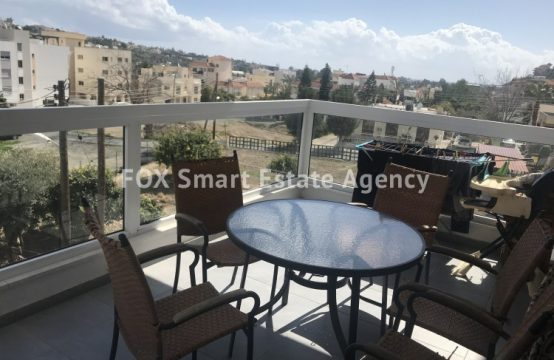 2 Bedroom Apartment with nice view in Germasogeia